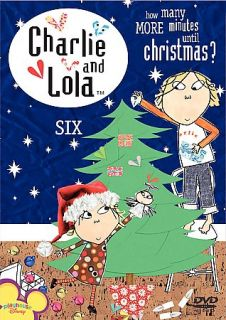 Charlie Lola Volume 6 How Many Minutes Until Christmas DVD, 2007