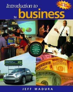 Introduction to Business by Jeff Madura 2003, Hardcover