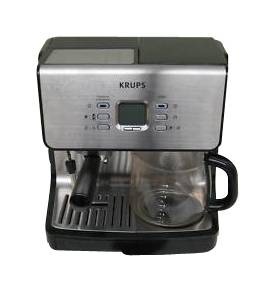 Krups XP2070 10 Cups Coffee Espresso Combo