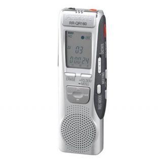Panasonic RR QR160 8 Hours Handheld Digital Voice Recorder
