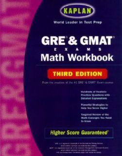 GRE GMAT Math by Kaplan Educational Center Staff and David Stuart 2002