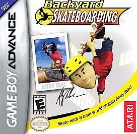 Backyard Skateboarding Nintendo Game Boy Advance, 2005