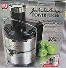 New Ultimate JACK LALANNE Stainless Steel POWER JUICER