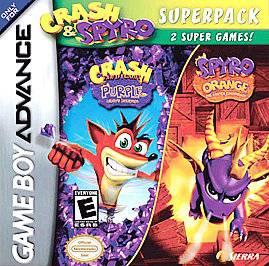 Crash Spyro Super Pack Volume 1 Nintendo Game Boy Advance, 2005