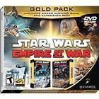 STAR WARS EMPIRE AT WAR GOLD PACK FOR PC XP/VISTA NEW