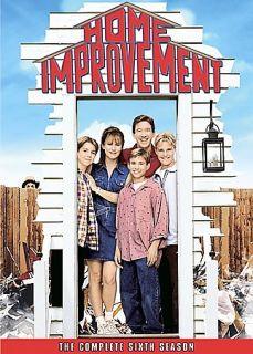 Home Improvement   The Complete Sixth Season DVD, 2007, 3 Disc Set