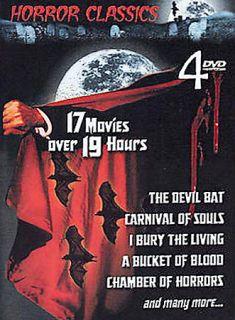 Horror Classics   4 Pack DVD, 2003, 4 Disc Set