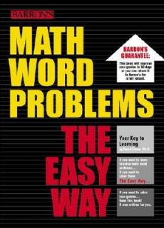 Math Word Problems the Easy Way by David Ebner 2002, Paperback