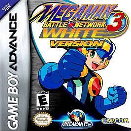 Mega Man Battle Network 3 White Version Nintendo Game Boy Advance