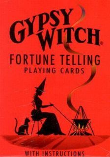 Gypsy Witch Fortune Telling Cards 2004, Hardcover