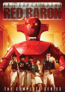 The Super Robot Red Baron The Complete Series DVD, 2010, 4 Disc Set