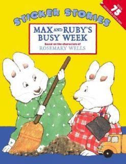 Max and Rubys Busy Week by Rosemary Wells 2002, Stickers