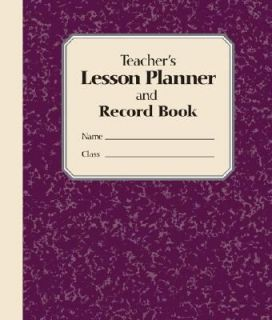 Teachers Lesson Planner and Record Book by Stephanie Embrey 2007