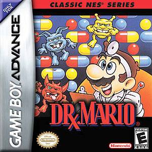 Dr. Mario Classic NES Series Nintendo Game Boy Advance, 2004