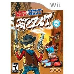 Wild West Shootout Game Gun Controller Wii, 2010