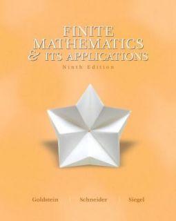 Finite Math and Its Application by David I. Schneider, Larry J