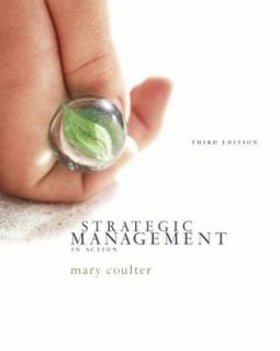 Strategic Management in Action by Mary Coulter 2004, Paperback