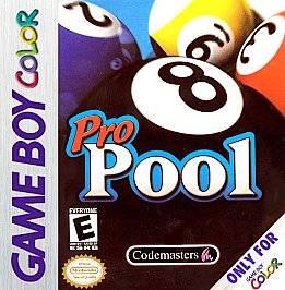 Pro Pool Nintendo Game Boy Color, 2000