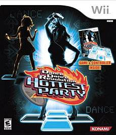Dance Dance Revolution Hottest Party game dance pad Wii, 2007