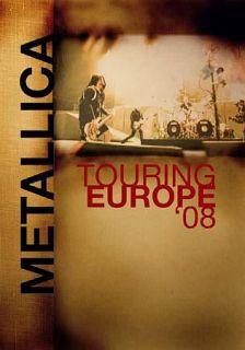 Metallica   Touring Europe 08 DVD, 2009, Canadian