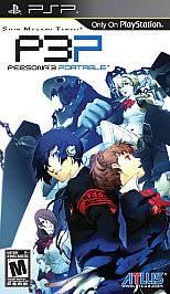 Shin Megami Tensei Persona 3 Portable PlayStation Portable, 2010