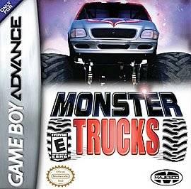 Monster Trucks Nintendo Game Boy Advance, 2004
