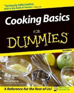 Cooking Basics for Dummies by Wolfgang Puck, Marie Rama, Bryan Miller