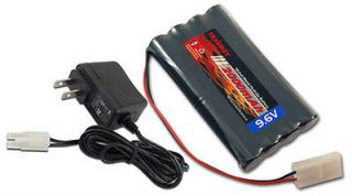 Tenergy 9.6V 2000mAh Nimh Battery Pack RC Car + 15v Simple Charger