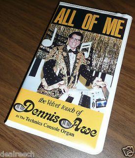 The Velvet Touch of Dennis Awe (Playing Technics Organs) 2 Cassettes