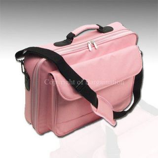 171615Laptop Notebook carrying bag case briefcase ~Pink