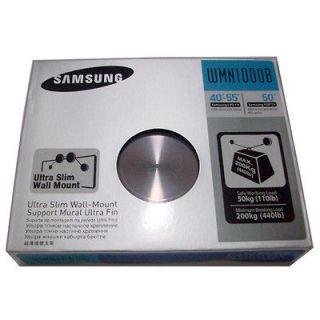 Ultra Slim Wall Mount WMN1000B For Samsung LED TV 40 55 6000 PDP 50