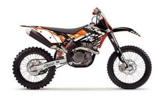 FLU Designs KTM Pro Team Series Graphic Kit SX 250 450F & EXC/XCW 200