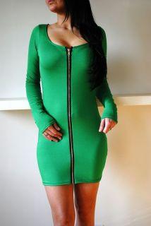 green dress long sleeve