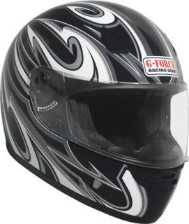 Gear Z2 Model Full Face Motorcycle DOT Rated Helmet with Graphics