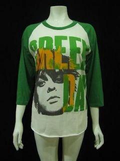 GREEN DAY Punk Rock Retro Jersey T Shirt Women Sz M