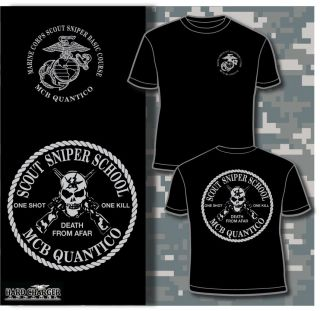 Marine Corps Scout Sniper School MCB Quantico, VA kopfjager USMC moto
