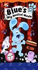 Blues Clues   Blues Big Musical Movie [VHS] by