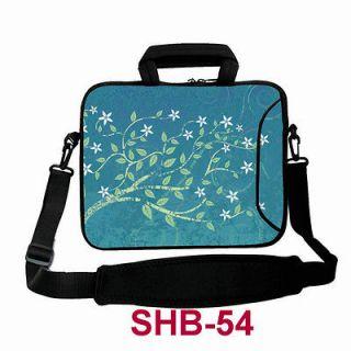 17.4 Laptop Messenger Bag Case Sleeve Netbook Cover + Shoulder Strap
