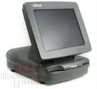 "Micros POS, PCWS 2010 Terminal with 12"" Touch Screen"