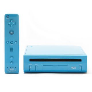 Nintendo Wii Limited Edition Blue Console (NTSC)