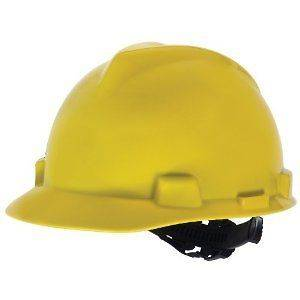 Safety Security Works Full Brim Hard Hat Helmet Yellow Free Shipping
