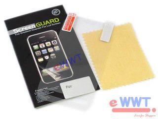 3x Clear Screen Protector Film + Cleaning Cloth Set for Nokia Lumia