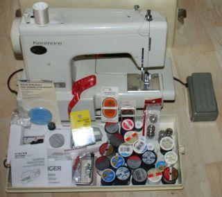 Sewing machine Model 15812332  Singer Kenmore Button Magic thread