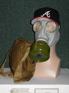 PREPPERS Lot of 3 Gas Masks Respirators Russian GP 5 FREE SHIP