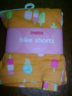 NWT Gymboree popsicle party bike shorts ice cream 5