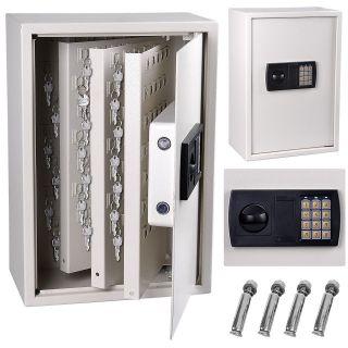 245 Key Storage Safe Box Wall Mount Cabinet Keyless Lock Electronic 1