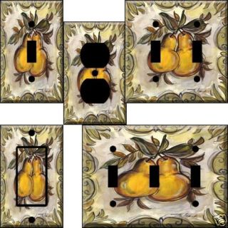 food hm Pears Light Switch Plate Cover switchplate