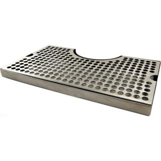 12 Surface Mount Drip Tray Stainless Steel No Drain