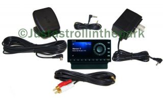 Sirius XM Onyx Radio Receiver + Complete Home Kit Antenna Adapter