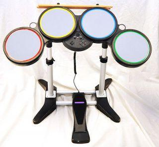 NEW Nintendo Wii ROCK BAND Wireless Drum Set kit 1 2 3 Lego guitar